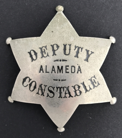 Alameda Deputy Constable badge.
